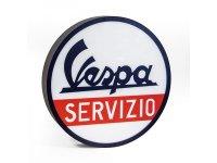VESPA 電飾看板 ヴェスパ 径 50 cm 【カラー・ホワイト】【カラー・レッド】