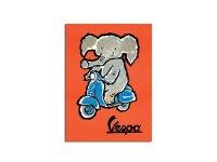 ポスター POSTER VESPA - ELEPHANT - イタリア インテリア【カラー・オレンジ】