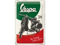 【数量限定】アンティーク風 サインプレート Vespa 20 x 30 cm【カラー・グリーン】【カラー・レッド】