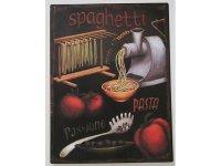 【数量限定】アンティーク風 サインプレート スパゲッティ Spaghetti【カラー・ブラック】【カラー・ブラウン】