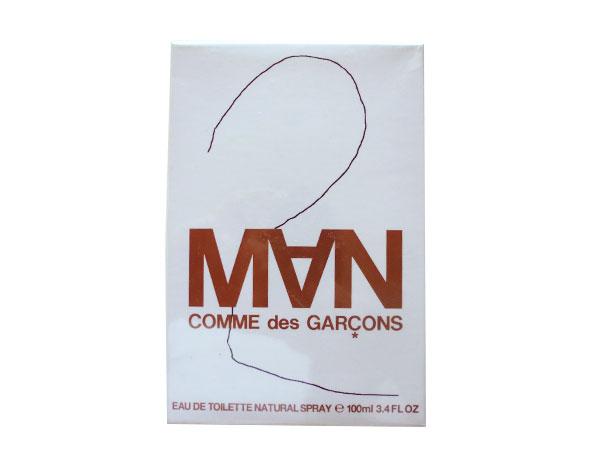 画像1: 【アウトレット・在庫限り】フランス コムデギャルソン香水 メンズ MAN 2 オーデトワレ スプレー EAU DE TOILETTE NATURAL SPRAY 100ml 【カラー・ホワイト】