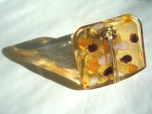 画像5: 明るく軽やかな印象 リング・指輪 【カラー・イエロー】【カラー・ブラウン】