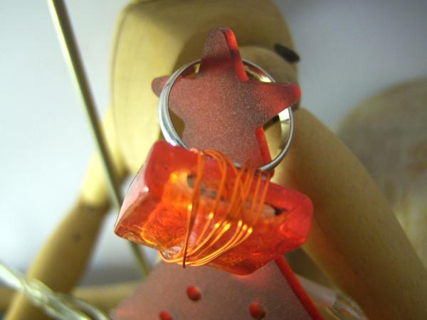 画像2: 可愛い大人のイメージに リング・指輪 【カラー・レッド】【カラー・オレンジ】