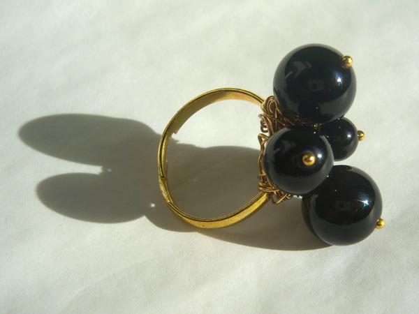 画像2: センスある人に似合う リング・指輪 【カラー・ブラック】