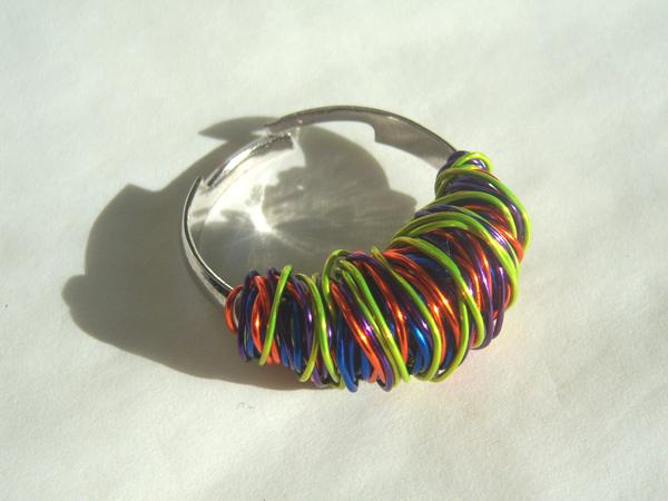 画像2: 遊び心あるポップなイメージ リング・指輪 【カラー・マルチ】
