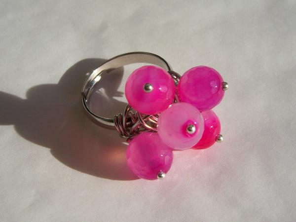 画像2: 可愛い&どこか懐かしい リング・指輪 【カラー・ピンク】