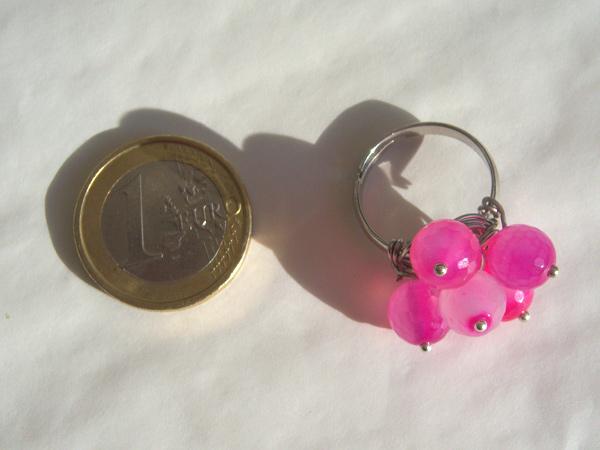 画像3: 可愛い&どこか懐かしい リング・指輪 【カラー・ピンク】