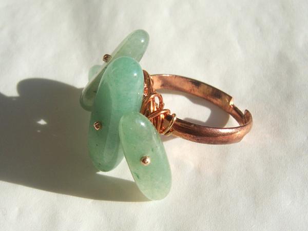 画像4: さりげなくゴージャス リング・指輪 【カラー・グリーン】