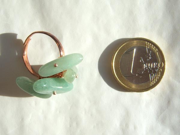画像3: さりげなくゴージャス リング・指輪 【カラー・グリーン】