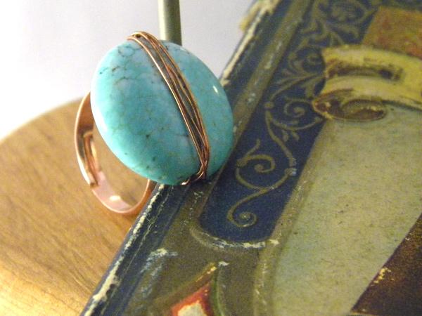 画像1: シックにもカジュアルにも◎ リング・指輪 【カラー・ブルー】