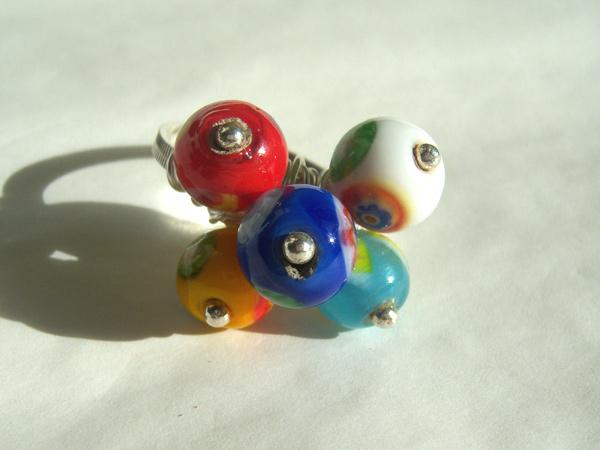 画像5: イタリアらしい色使い リング・指輪 【カラー・ブルー】