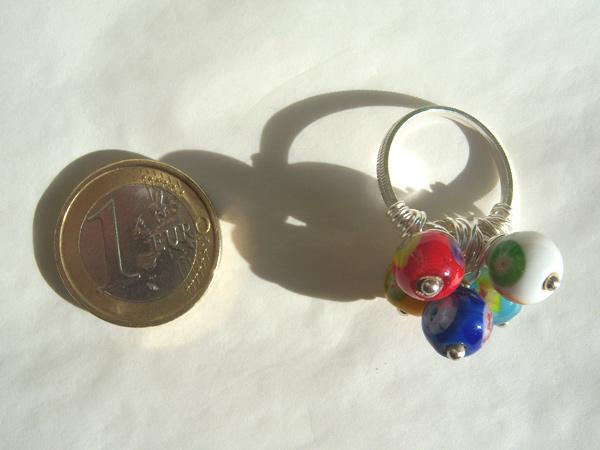 画像3: イタリアらしい色使い リング・指輪 【カラー・ブルー】
