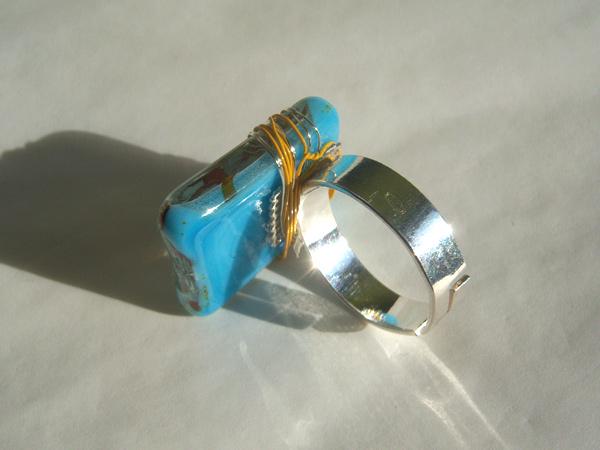 画像4: シックに手元を彩る リング・指輪 【カラー・ブルー】【カラー・グレー】