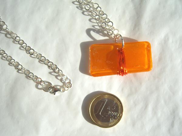 画像3: キャラメルみたいな可愛いオレンジで好印象 ペンダント 【カラー・オレンジ】