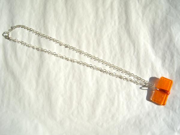 画像4: キャラメルみたいな可愛いオレンジで好印象 ペンダント 【カラー・オレンジ】