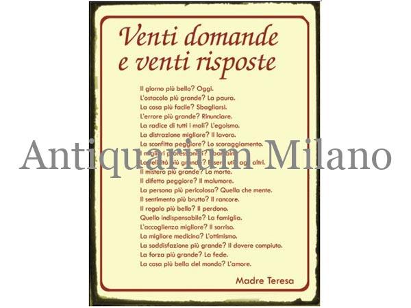 画像1: イタリア語パネル 20の質問と20の答え Venti domande e venti risposte 【カラー・レッド】