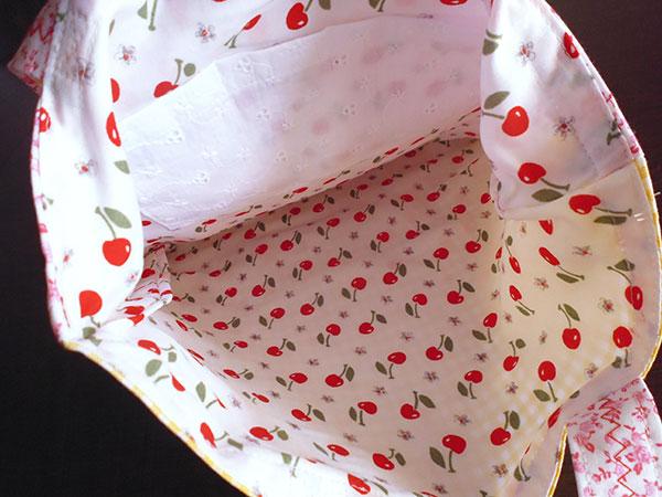 画像4: Ciuccio Milano イタリア製ベビーアイテム コットンバッグ 【カラー・ピンク】【カラー・ホワイト】