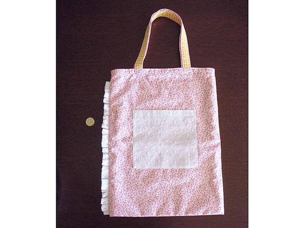 画像1: Ciuccio Milano イタリア製ベビーアイテム コットンバッグ 【カラー・ピンク】【カラー・ホワイト】