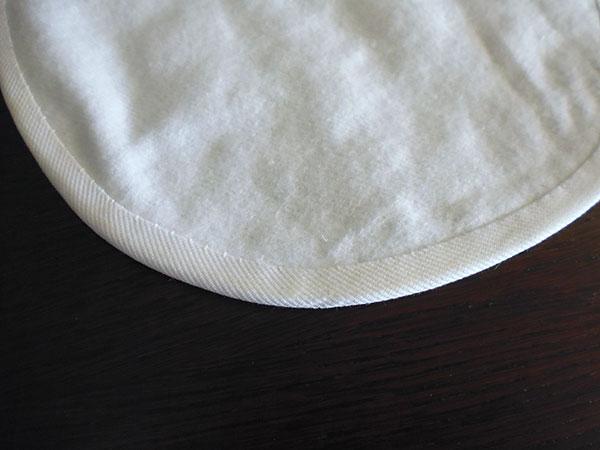 画像4: Ciuccio Milano イタリア製ベビーアイテム スタイ ピュアホワイト コットン100% 【カラー・ホワイト】