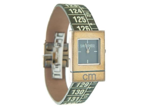 画像1: イタリアンレザーを使ったメジャー・ブレスレット腕時計 レザー Cuba Green 【カラー・グリーン】【カラー・グレー】