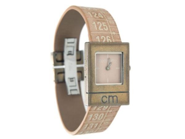 画像1: イタリアンレザーを使ったメジャー・ブレスレット腕時計 レザー Egyptian Brown 【カラー・イエロー】【カラー・ブラウン】【カラー・グレー】