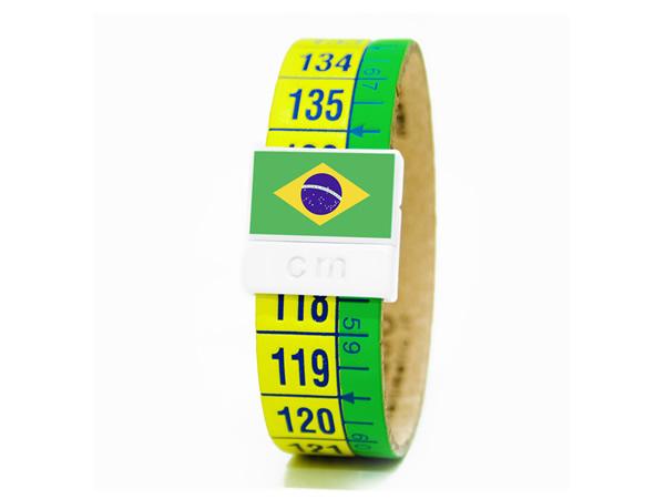 画像1: イタリアンレザーを使ったメジャー・ブレスレット レザー Brasile【カラー・グリーン】【カラー・イエロー】