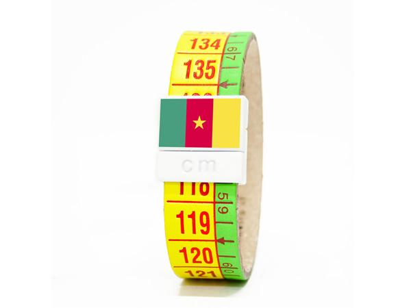 画像1: イタリアンレザーを使ったメジャー・ブレスレット レザー Camerun【カラー・グリーン】【カラー・イエロー】