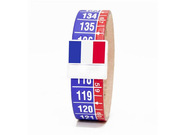 画像1: イタリアンレザーを使ったメジャー・ブレスレット レザー Francia【カラー・ブルー】【カラー・レッド】
