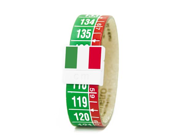 画像1: イタリアンレザーを使ったメジャー・ブレスレット レザー Italia Tricolore 【カラー・グリーン】【カラー・レッド】