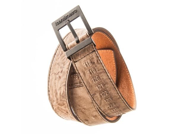 画像1: Il Centimetroのメンズベルト Cintura OldWest Brown【ブラウン】