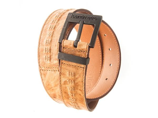 画像1: Il Centimetroのメンズベルト Cintura OldWest Rust【ブラウン】