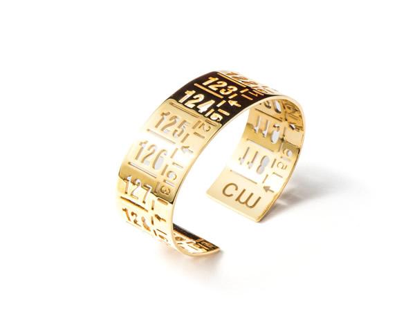 画像1: イタリア メジャー・ブレスレット 24金仕様ゴールド J-CLASSIC GOLD 【カラー・イエロー】