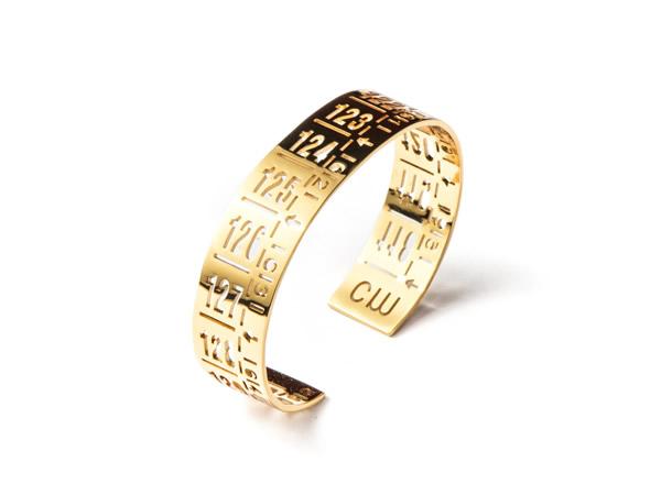画像1: イタリア メジャー・ブレスレット 24金仕様ゴールド J-LITTLE GOLD 【カラー・イエロー】