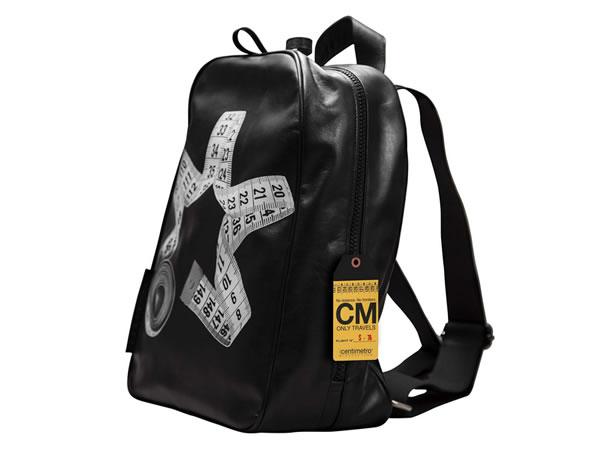 画像1: Il Centimetroのレザーバックパック スモール CITY COLLECTION  Backpack small【ブラック】