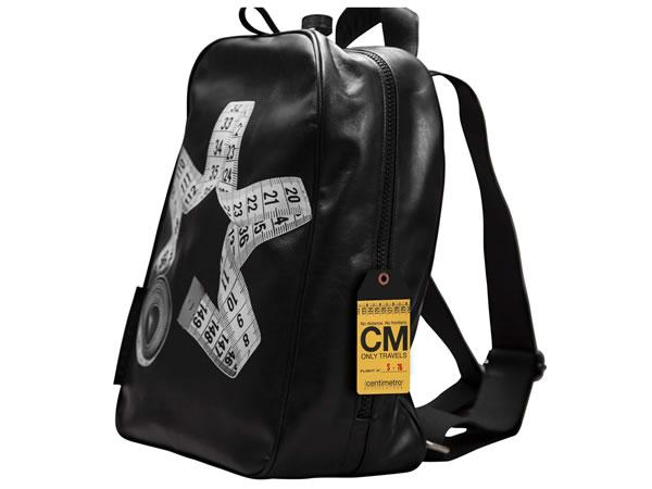 画像1: Il Centimetroのレザーバックパック CITY COLLECTION  Backpack big【ブラック】