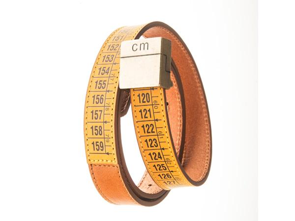画像1: Il Centimetroのメンズベルト Lowerbelt Classic Yellow 105cm 【イエロー】【オレンジ】