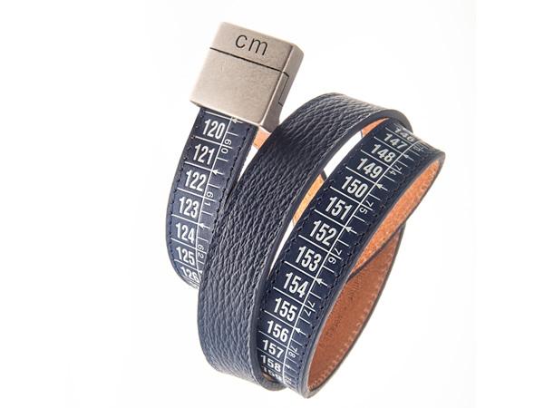 画像1: Il Centimetroのメンズベルト Lowerbelt Blue 105cm【ブルー】