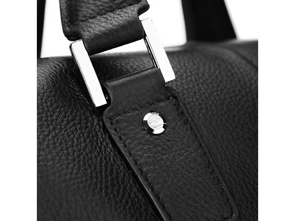 画像4: Gear Band  本革 サイドベルト・ショルダーベルト・ノートパソコン&タブレットポケット付き ブリーフケース 【カラー・ブラック】