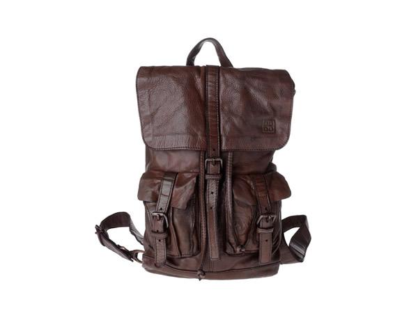 画像1: DuDu 本革リュックサック  Timeless ~ Backpack カカオ・ブラウン【カラー・ブラウン】