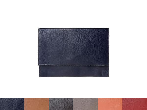 画像1: DuDu 本革クラッチ・ショルダーバッグ 6色 【カラー・ブルー】【カラー・ブラウン】【カラー・レッド】【カラー・グレー】【カラー・オレンジ】