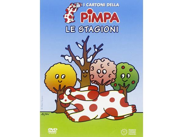 画像1: イタリア語で観るイタリアのアニメ映画 ピンパ「Le stagioni」 DVD【A1】【A2】【B1】【B2】
