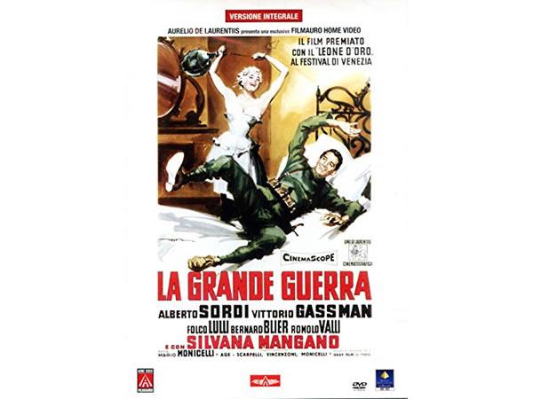 画像1: イタリア語で観るイタリア映画 アルベルト・ソルディ 「La Grande Guerra」2枚組 DVD  【B2】【C1】