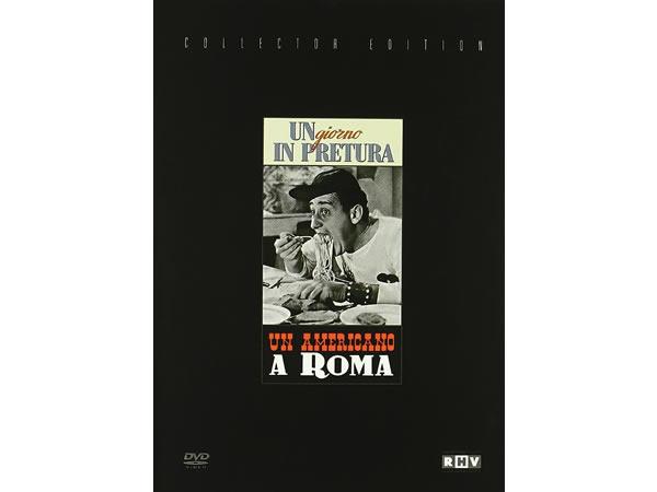 画像1: イタリア語で観るイタリア映画 アルベルト・ソルディ 「Un Americano A Roma / Giorno In Pretura」コレクターズ・エディション 2枚組 DVD  【B2】【C1】