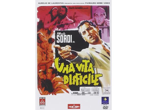 画像1: イタリア語で観るイタリア映画 アルベルト・ソルディ 「困難な人生 Una Vita Difficile」 DVD  【B2】【C1】