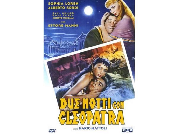 画像1: イタリア語で観るイタリア映画 アルベルト・ソルディ 「Due Notti Con Cleopatra」 DVD  【B2】【C1】