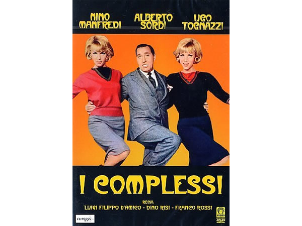 画像1: イタリア語で観るイタリア映画 アルベルト・ソルディ 「おとぼけ紳士録 I Complessi」 DVD  【B2】【C1】