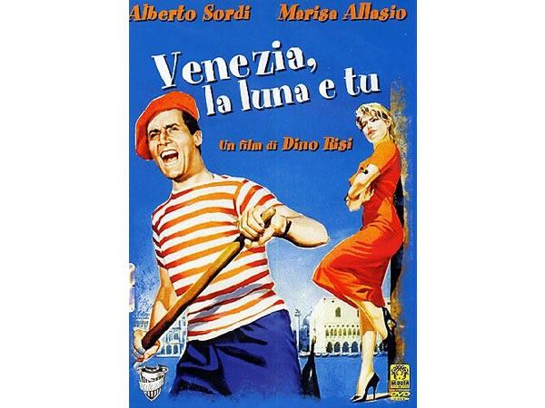画像1: イタリア語で観るイタリア映画 アルベルト・ソルディ 「ベニスと月とあなた Venezia La Luna E Tu」 DVD  【B2】【C1】
