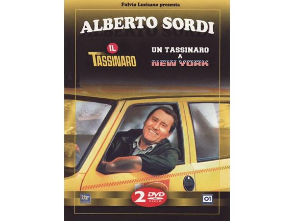画像1: イタリア語で観るイタリア映画 アルベルト・ソルディ 「Il Tassinaro / Un Tassinaro A New York」2枚組 DVD  【B2】【C1】