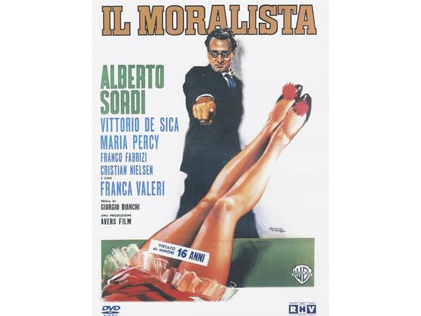 画像1: イタリア語で観るイタリア映画 アルベルト・ソルディ 「Il moralista」 DVD  【B2】【C1】