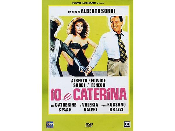 画像1: イタリア語で観るイタリア映画 アルベルト・ソルディ 「Io E Caterina」 DVD  【B2】【C1】